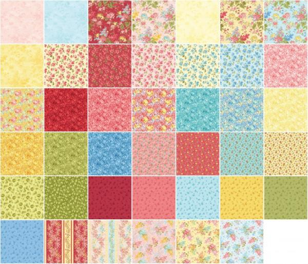 5in Squares Forever Love 42pcs/bundle, 12 bundles per box
