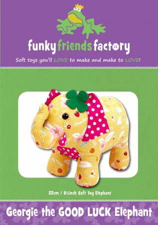 Georgie The Good Luck Elephant 8.5 Stuffed Toy Pattern