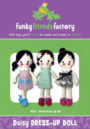 Daisy Dress Up Doll by Funky Friends Factory