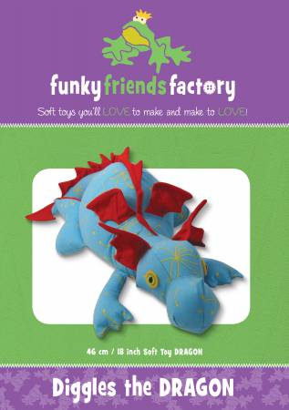 Funky Friends FactoryDiggles The Dragon
