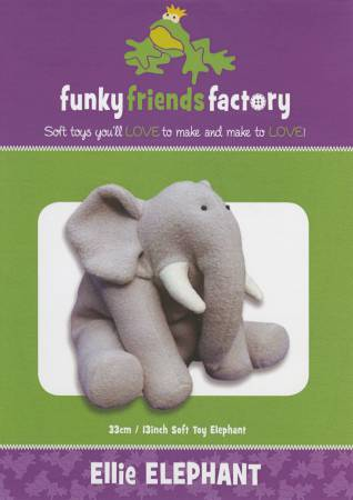 Funky Friends Factory Ellie Elephant Pattern