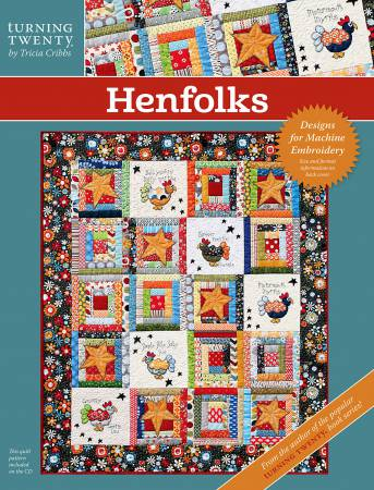 CD Henfolks Machine Embroidery