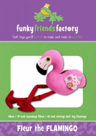 PT S Funky Friends Factory Fleur Flamingo