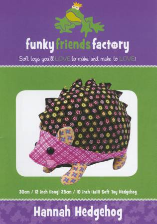 Funky Friends Factory Hannah Hedgehog Pattern