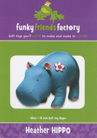 Heather Hippo by Funky Friends Factory