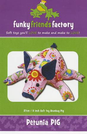 Petunia Piglet 11 Stuffed Toy Pattern