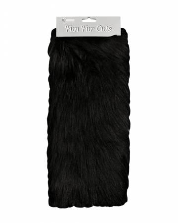 Fun Fur Cut - Long Pile Monkey Black