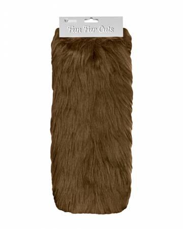 Fun Fur Cut - Long Pile Monkey Brown
