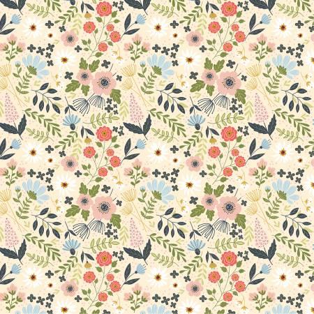 Cream Farm Girl by Farmgirls Unite for Poppie Cotton ~FG20713~