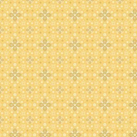 Yellow Bandanas Forever by Farmgirls Unite for Poppie Cotton ~FG20722~