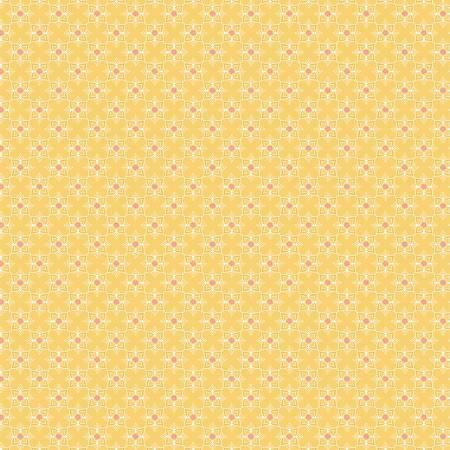 Yellow Sunshine & Cotton by Farmgirls Unite for Poppie Cotton ~FG20725~