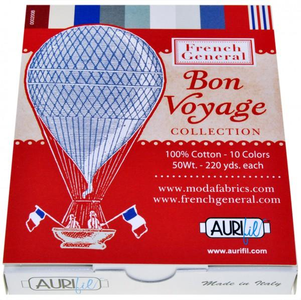 French General Bon Voyage Collection 10 Small Spools 50wt
