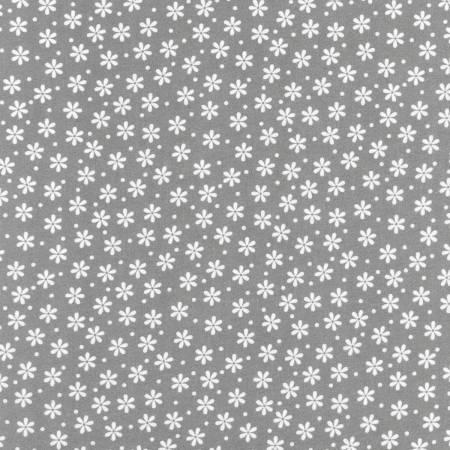 Pepper Flowers & Dot Flannel