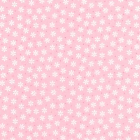 Cozy Cotton  Rose Flowers & Dot Flannel