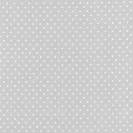 Cozy Cotton Flannel 9255-186 Silver Dot