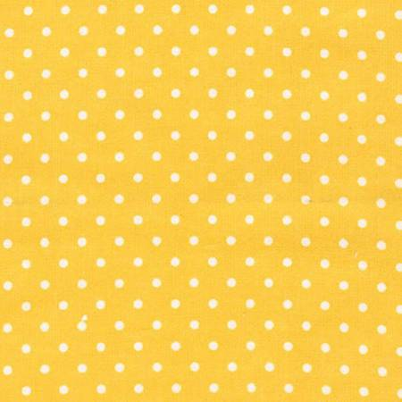Yellow Dot Flannel 9255