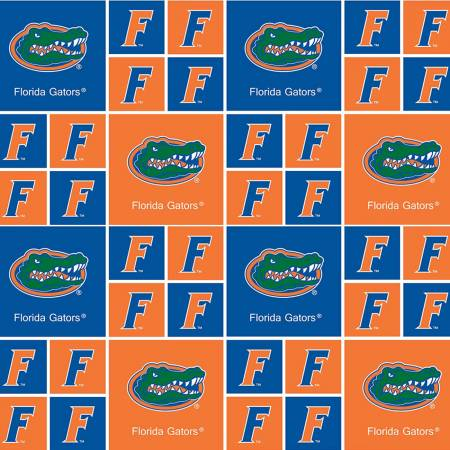 University of Florida Gators Squares FL-020