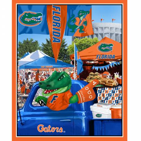 University of Florida Gators Tailgate Panel 36in x 44in Digitally Printed FL-1157