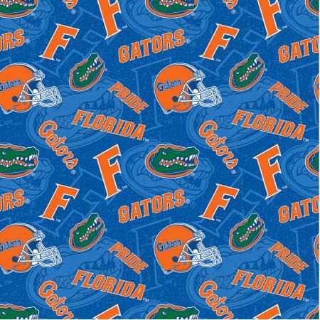 University of Florida Gators Tone on Tone Cotton FL-1178