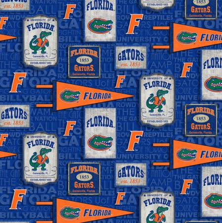 Florida Gators Vintage Pennant Cotton