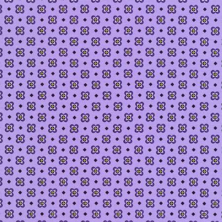 Purple Small bloom - Elizabeth For Robert Kaufman Fabrics