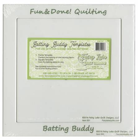 Batting Buddy Template Set