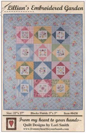 Lillian's Embroidered Garden Pattern
