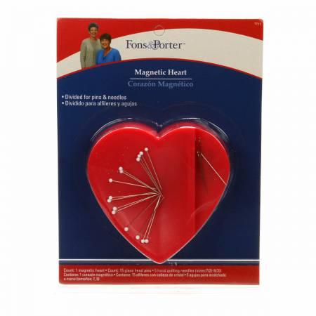 Fons & Porter Magnetic Heart Pin