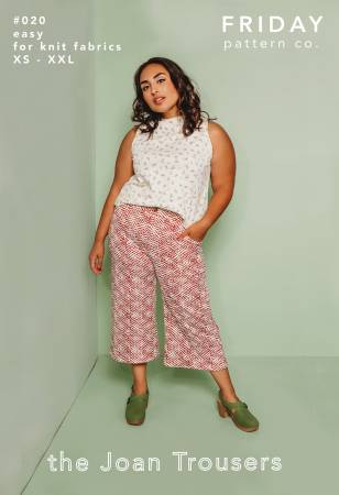 Joan Trousers by Friday Pattern Co.