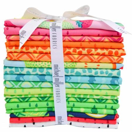 Fat Quarter Sew Fruity, 18pcs/bundle