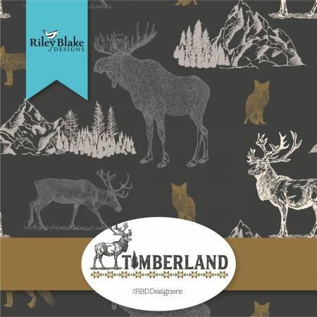 Timberland Fat Quarter Bundle, 19pc