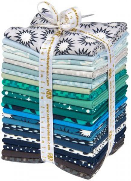 Fat Quarter Bundle Pacific Cool