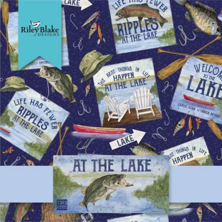 At The Lake  - Fat Quarter Bundle - 15pcs - 889333200871 - FQ-10550-15