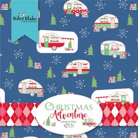 Christmas Adventure Fat Quarter Bundles, 21pcs/bundle