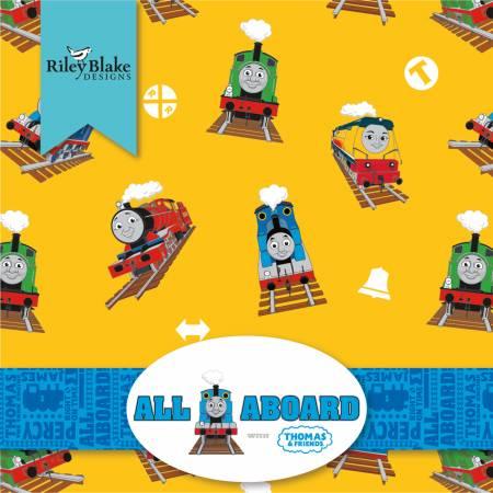 Thomas & Friends All Aboard Fat Quarter, 18pcs/bundle