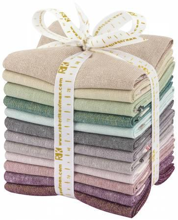FAT QUARTER BUNDLES FQ-1308-12 PC TERRARIUM COOL COORDINATES