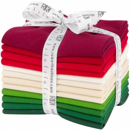 RK Kona Cotton Christmas Holiday Palette FQB