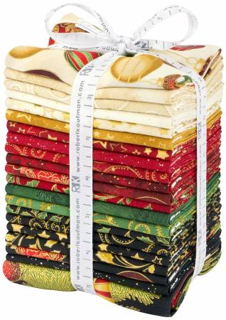 Winter's Grandeur 7 - Holiday FQ Bundle  21pcs