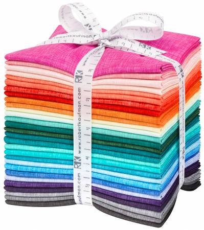 Fat Quarter Quilters Linen 2019 New Colors, 29pcs/bundle