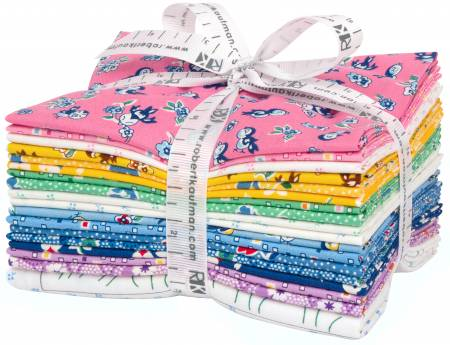 Fat Quarter Naptime 4, 18pcs/bundle