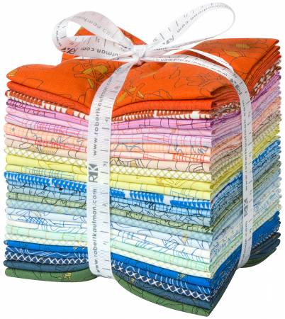 **Fat Quarter Collection CF Colorful, 27pcs/bundle