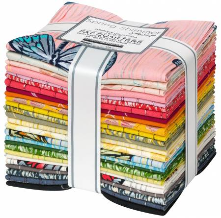 SPRING SHIMMER FAT QUARTER BUNDLE