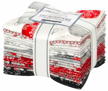 FQ Bundle - Scarlet Colorstory / Holiday Flourish 14  (19 Fat Quarters)
