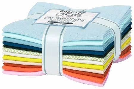Palette Picks Curated by Carolyn Friedlander - Kept Coordinates - 12 Fat Quarters