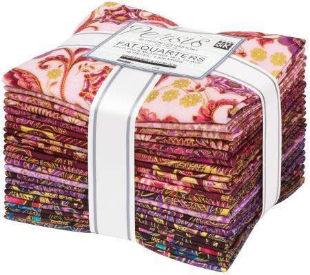 Fat Quarter Persis Blossom, 18pcs/bundle