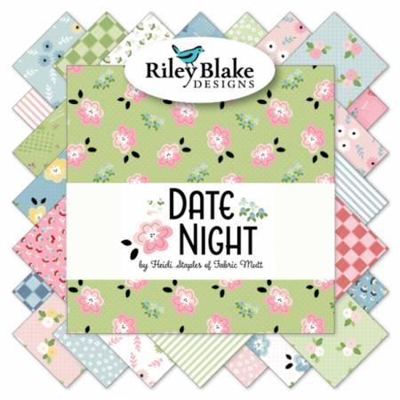 Date Night Fat Quarter Bundle, 24 Pcs