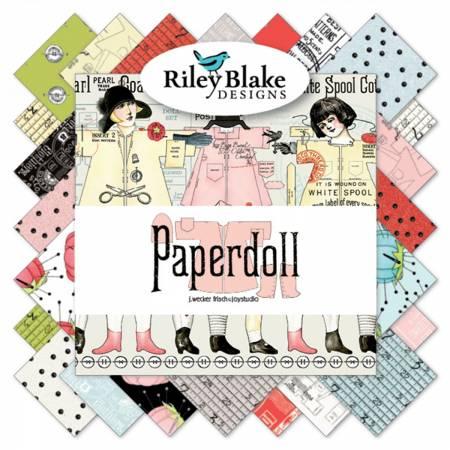 Paperdoll Fat Quarter Bundle