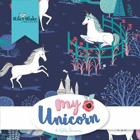 My Unicorn Fat Quarter Bundle
