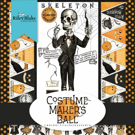 Costume Makers Ball Fat Quarter Bundle, 18pcs