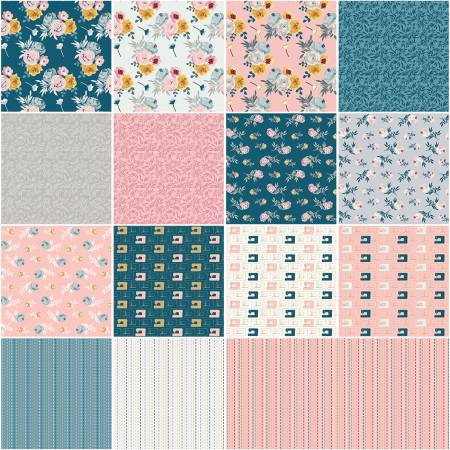 Blooms & Bobbins Fat Quarter Bundle